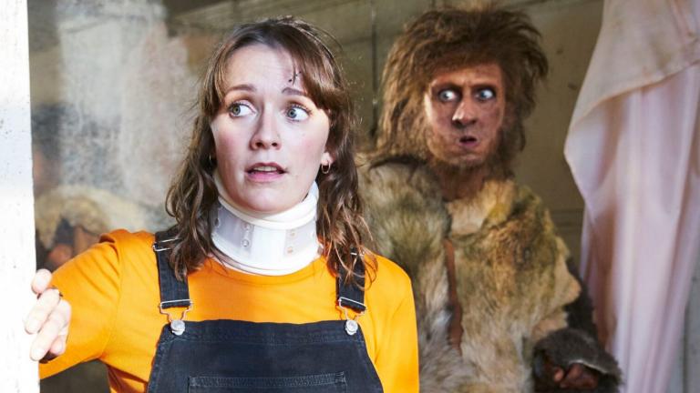 Nézőnapló:  BBC Ghosts S01E02 (Gorilla War)